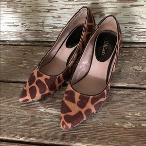 Nine & co. Animal print pumps